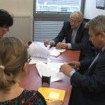 Podpisanie umowy DFR